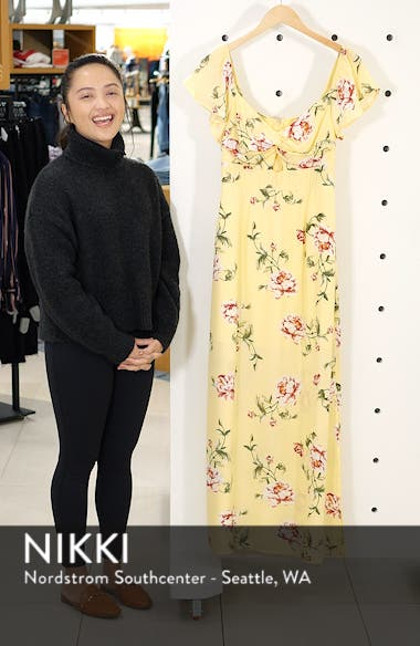 Twist Front Maxi Dress, sales video thumbnail
