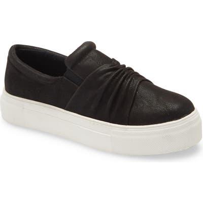 Mia Roza Platform Sneaker- Black