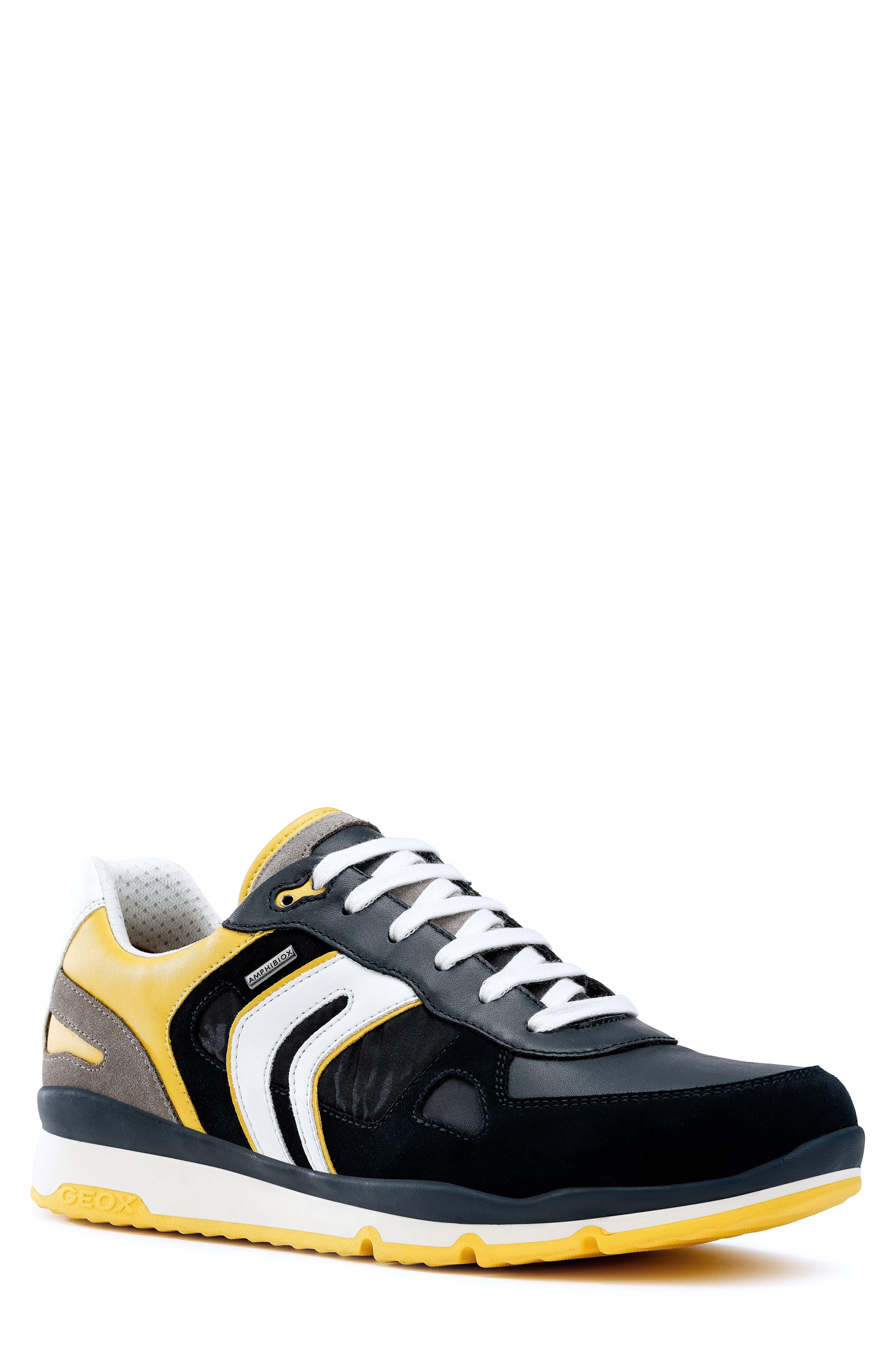 Geox Sandford Abx 2 Sneaker, Yellow