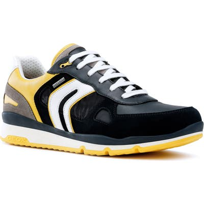 Geox Sandford Abx 2 Waterproof Sneaker, US / 44EU - Yellow