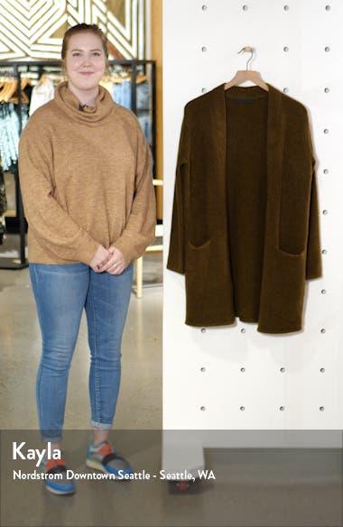 Wool Blend Sweater Coat, sales video thumbnail
