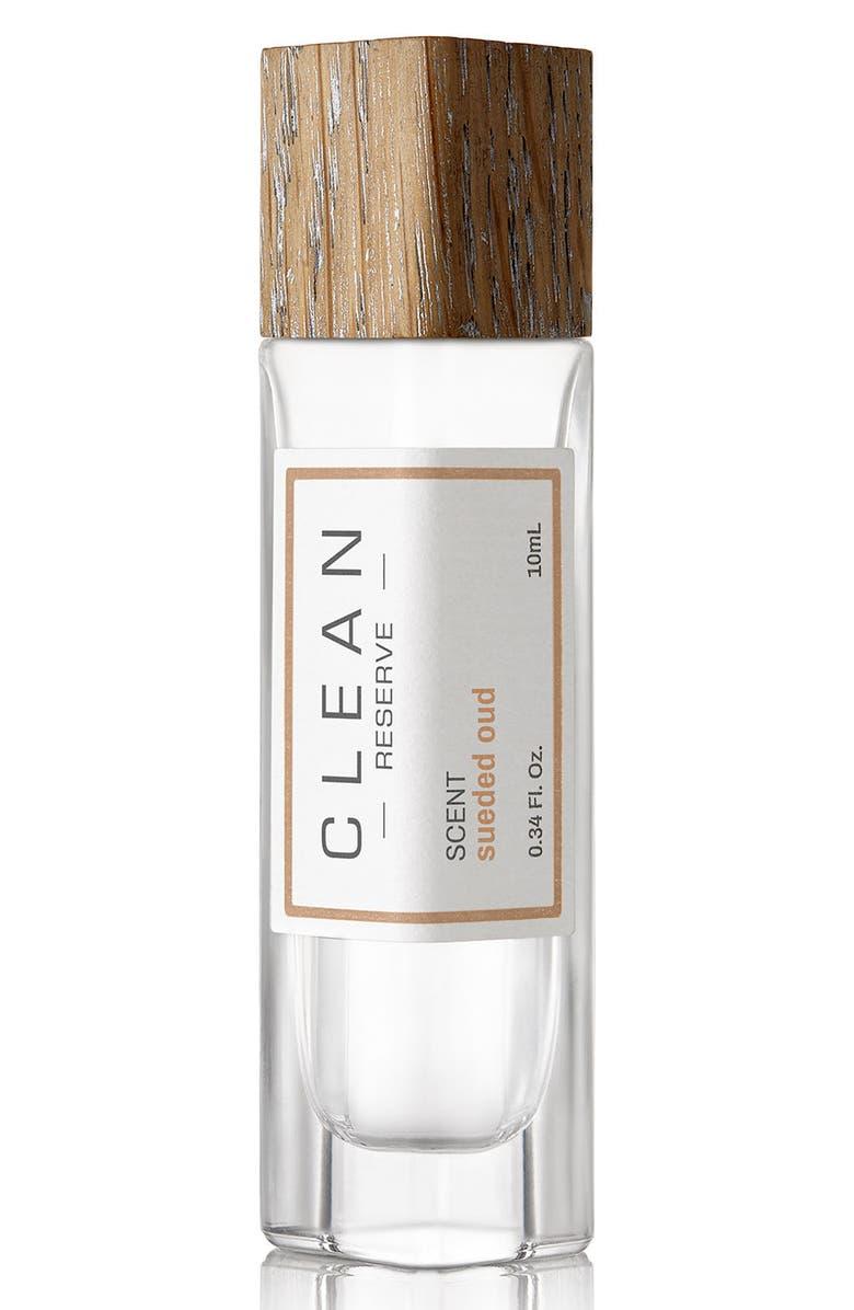 CLEAN RESERVE Sueded Oud Eau de Parfum Pen Spray, Main, color, 000