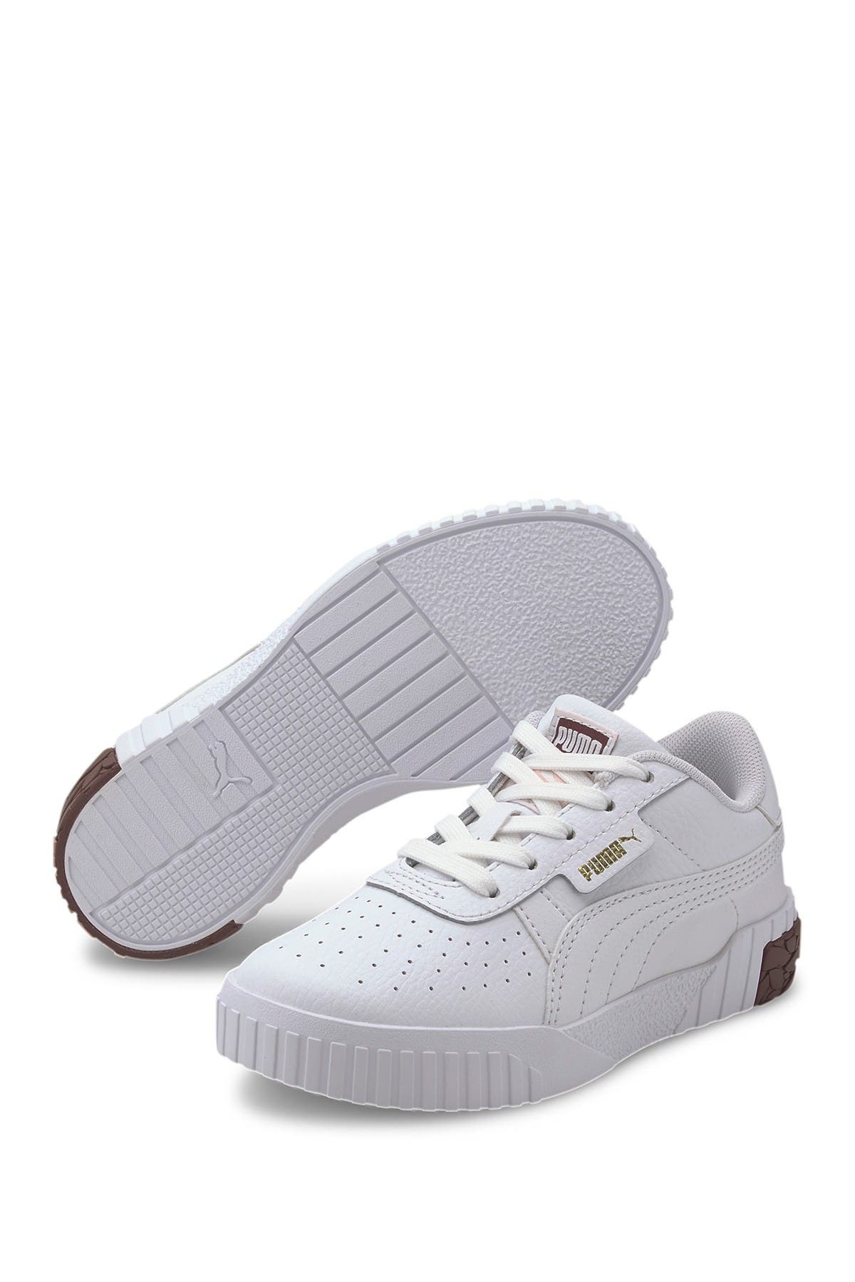 Image of PUMA Cali Perforated Leather Sneaker