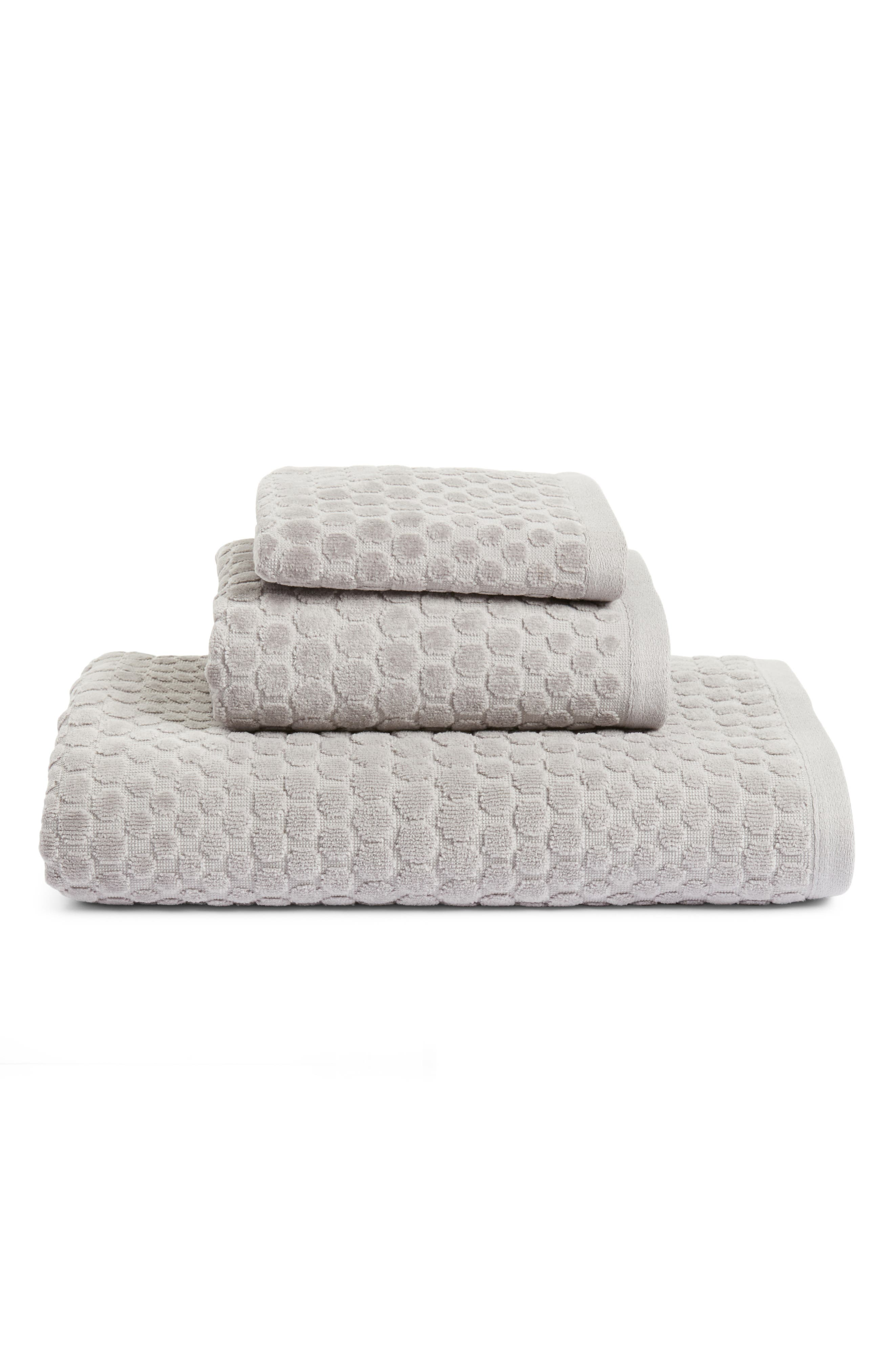 ,                             Lorenza Bath Towel,                             Alternate thumbnail 2, color,                             GREY FROST