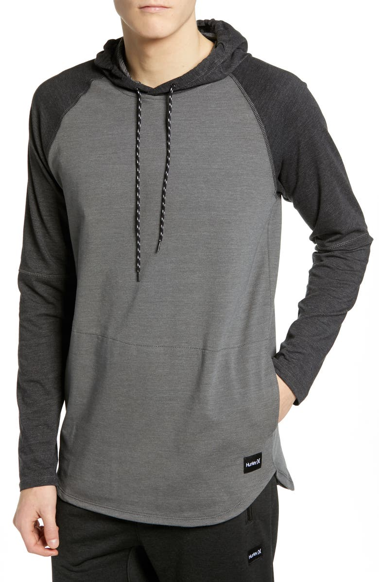 HURLEY Grant Dri-FIT Hooded Pullover, Main, color, 050