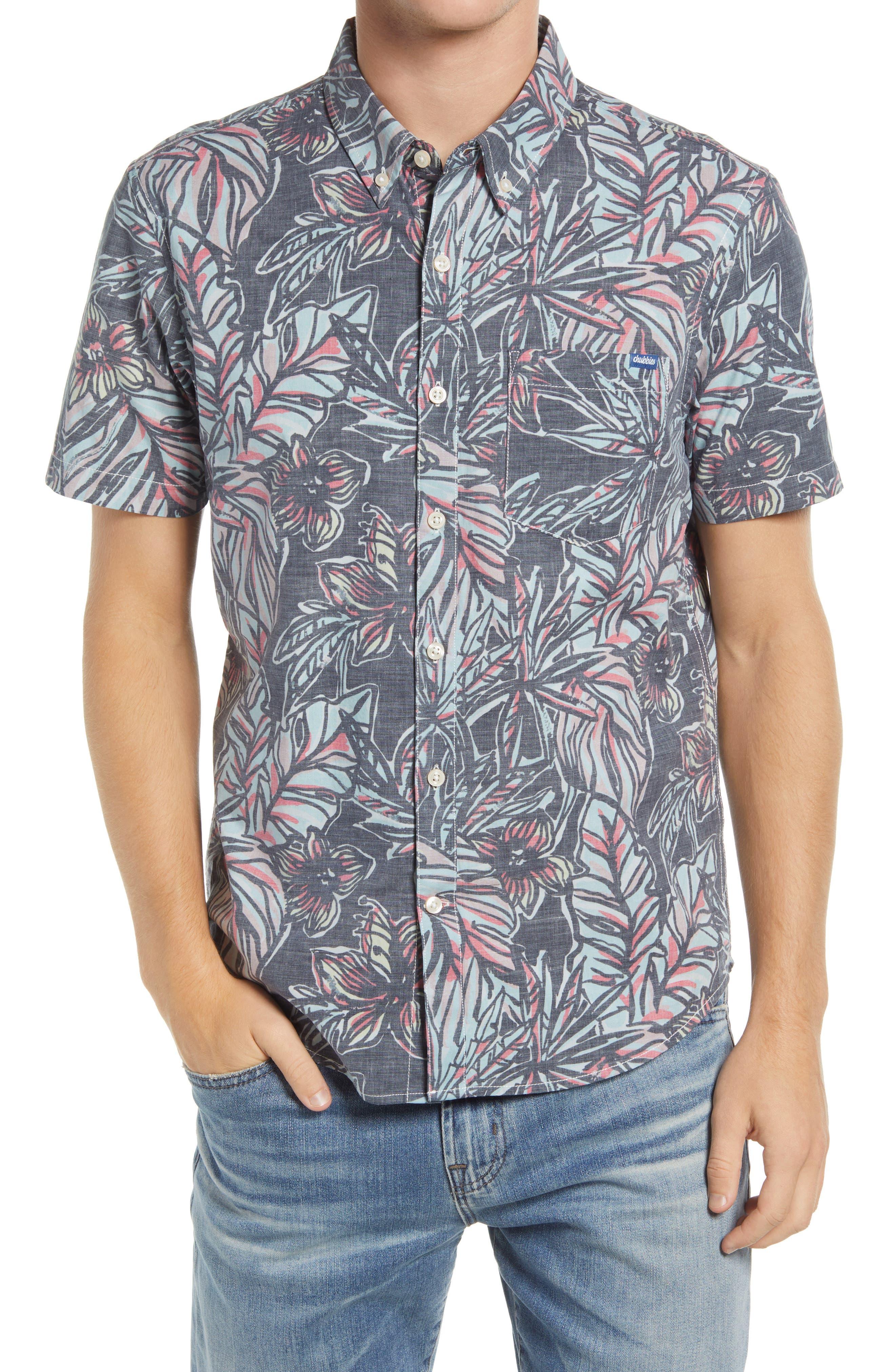 The Dark Floral Vault Short Sleeve Button-Down Shirt