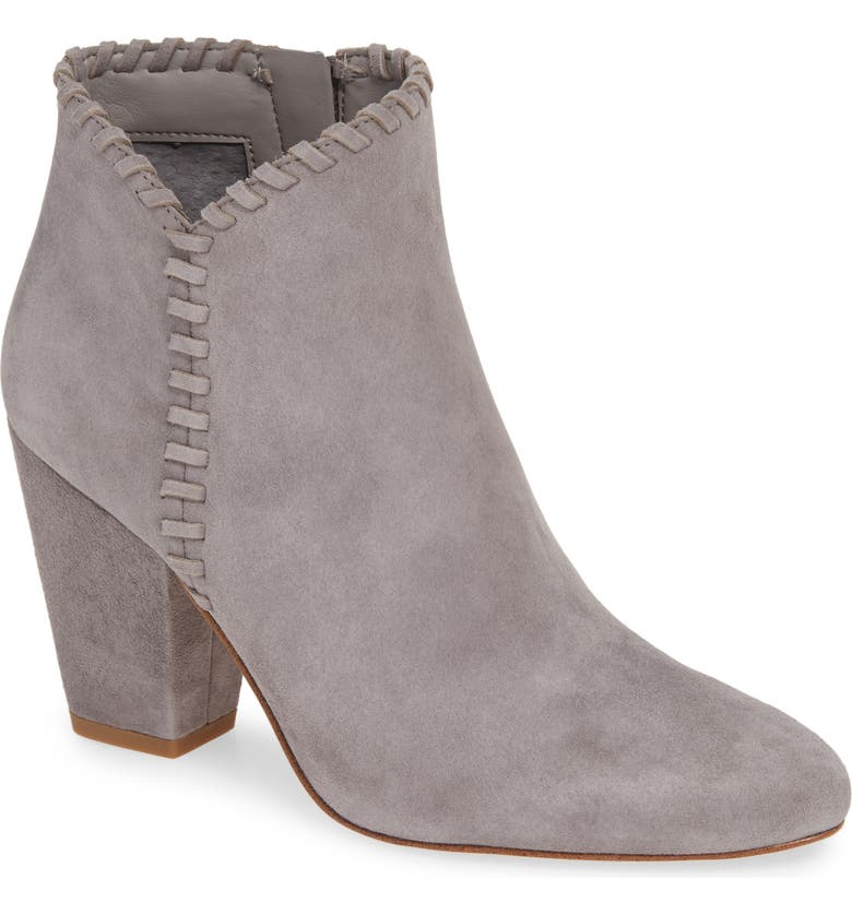 1.STATE Mylo Bootie, Main, color, LIGHT GREY SUEDE