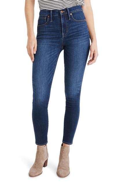 Madewell Jeans 10-INCH HIGH WAIST SKINNY JEANS: CASHMERE DENIM EDITION