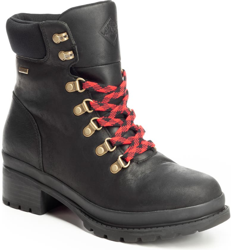 THE ORIGINAL MUCK BOOT COMPANY Liberty Alpine Waterproof Hiker Boot, Main, color, 001