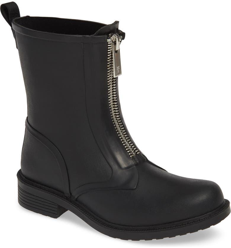 FRYE Storm Waterproof Rain Boot, Main, color, 001