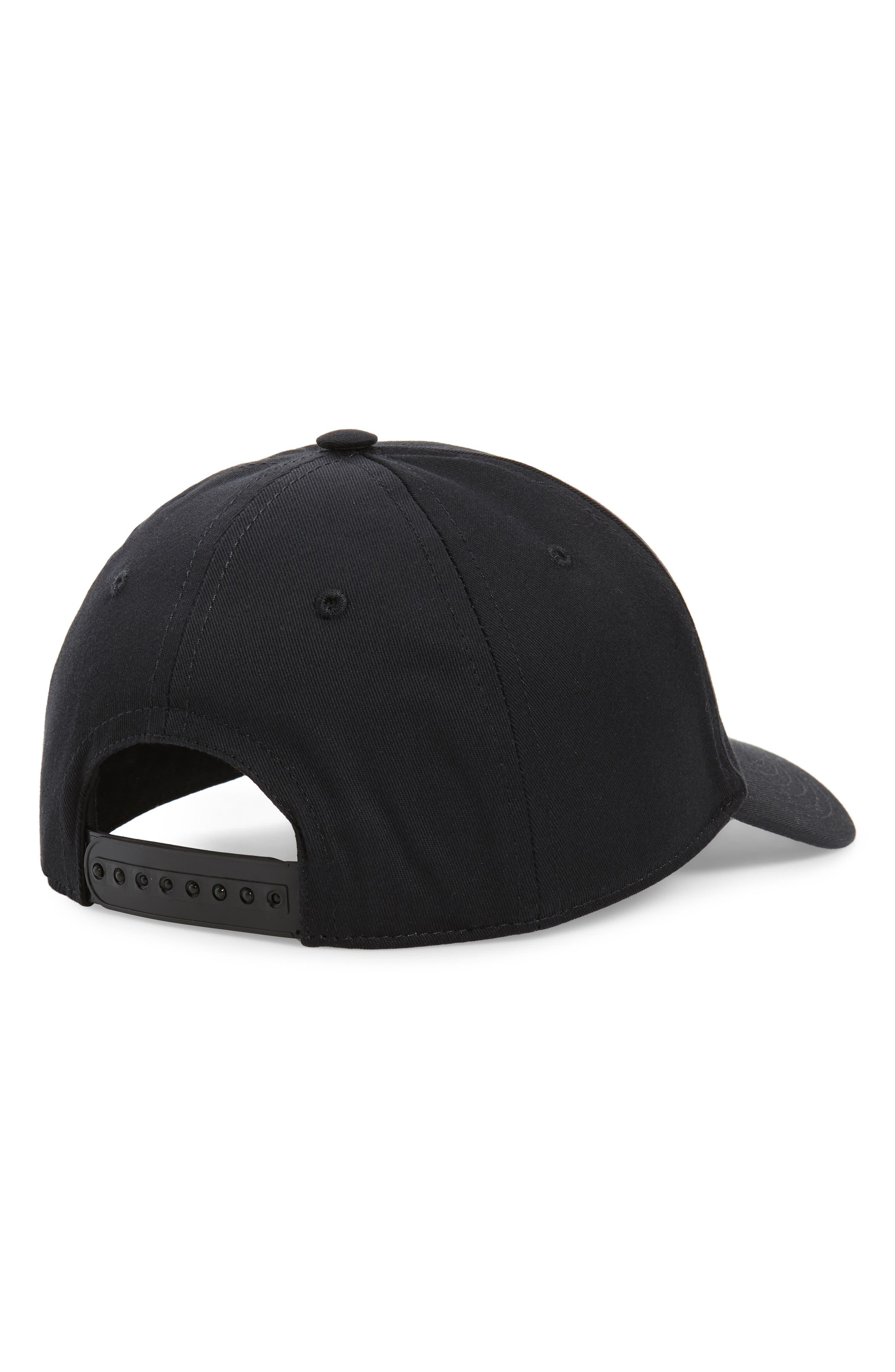 ,                             Logo Snapback Baseball Cap,                             Alternate thumbnail 2, color,                             BLACK