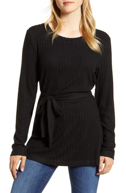 Image of Bobeau Beau Side Slit Cozy Top