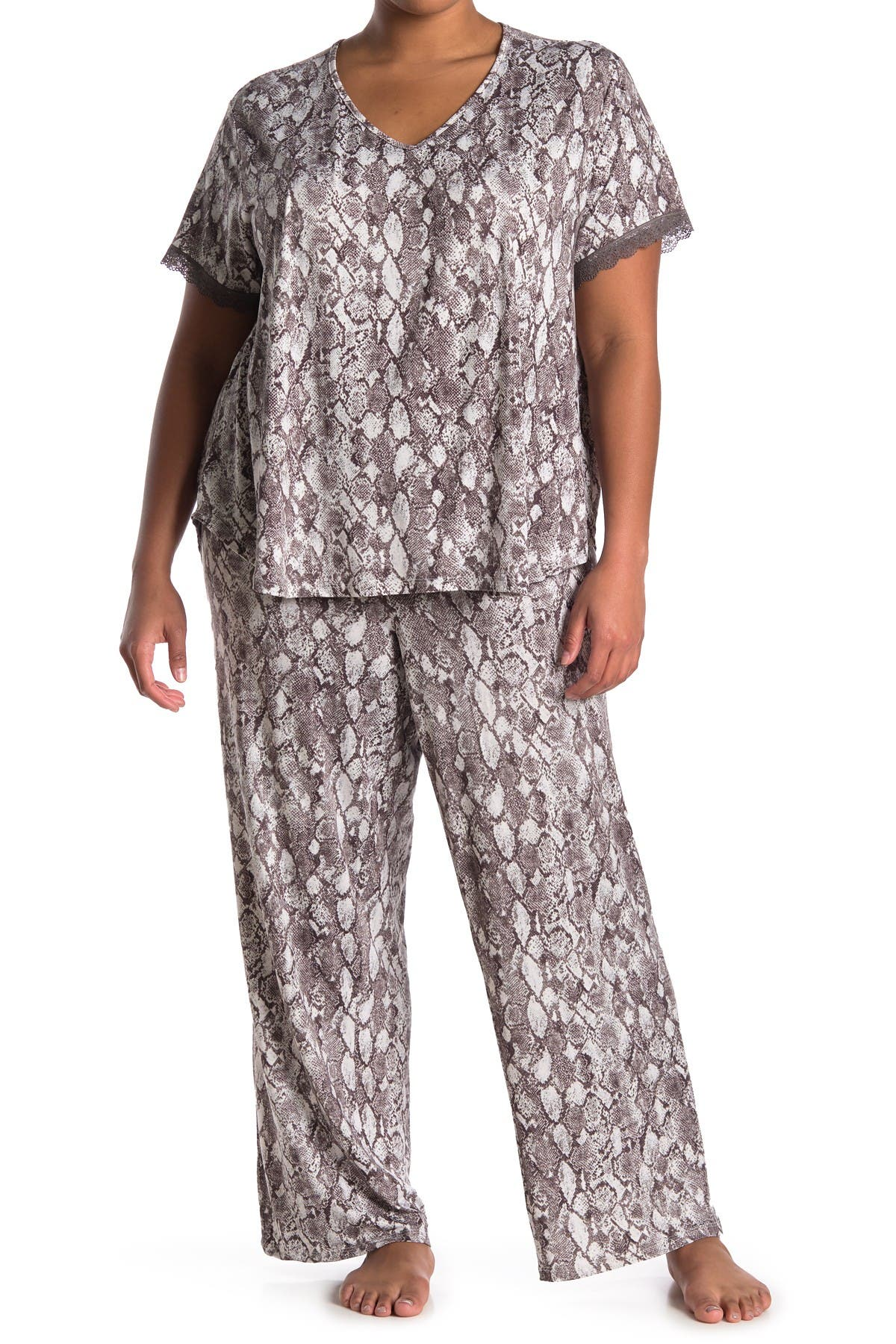 Image of Flora by Flora Nikrooz Printed Pajama Set