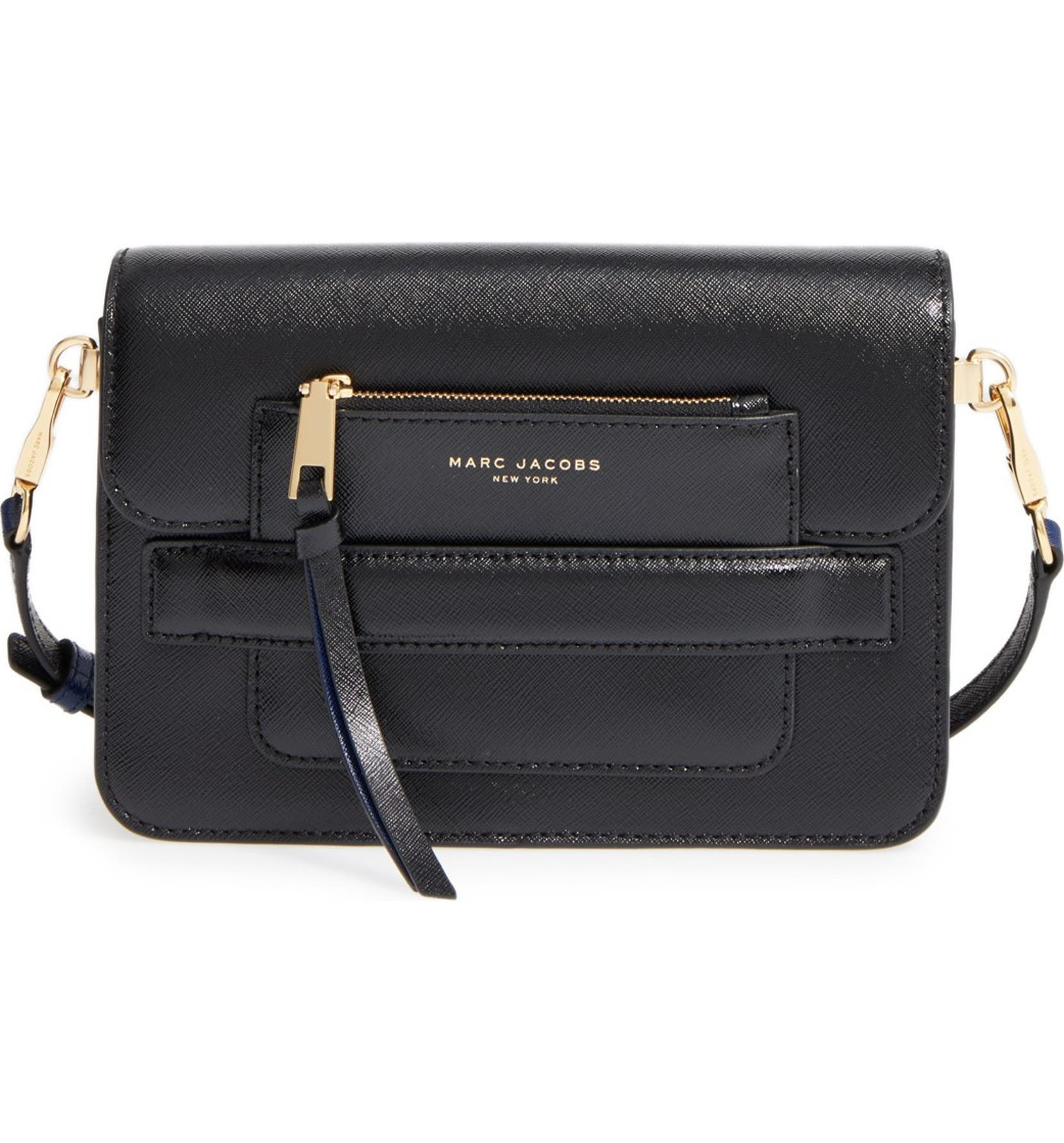 b1bd53c9f MARC JACOBS Madison Colorblock Leather Crossbody Bag | Nordstrom
