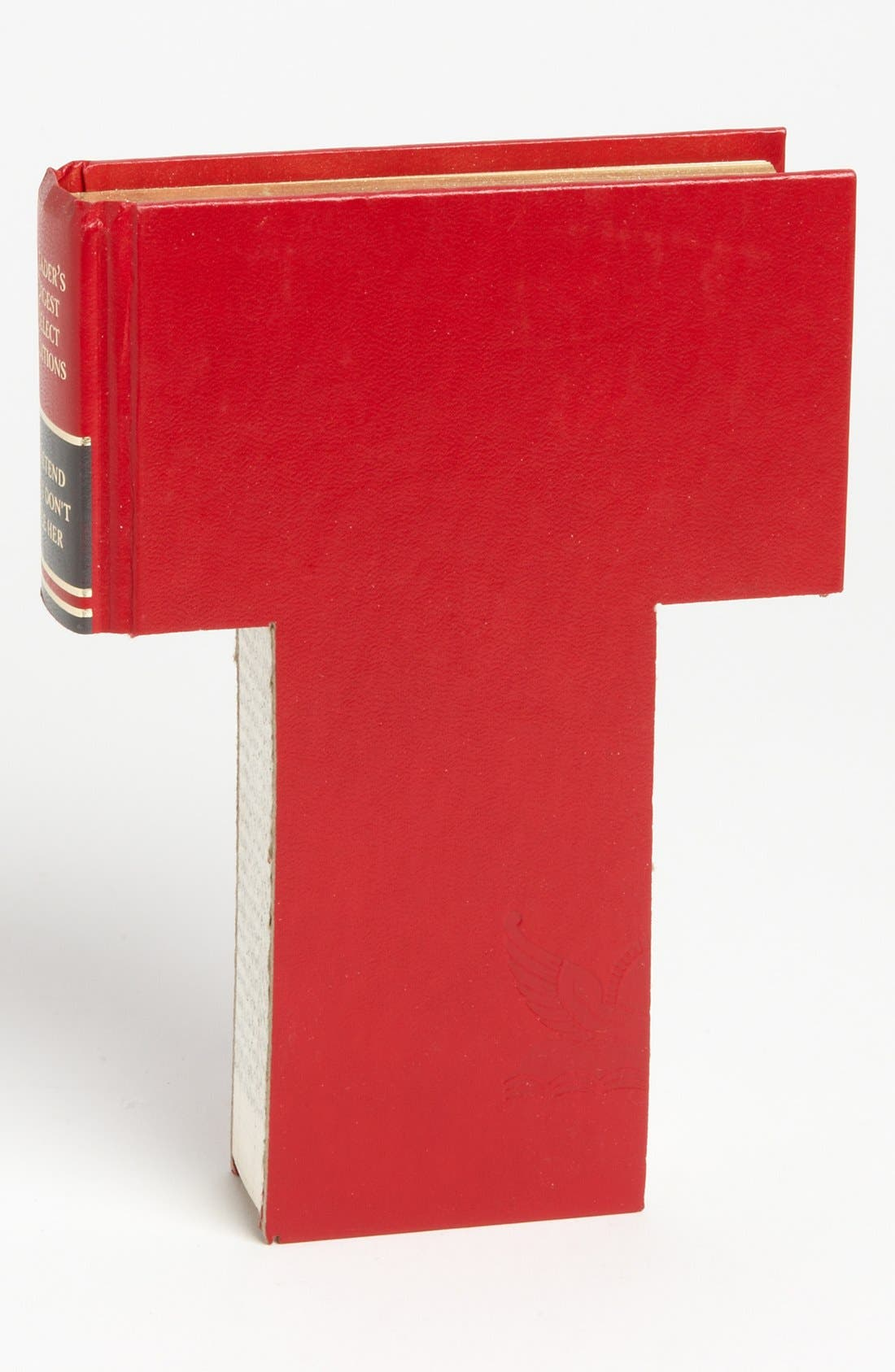 ,                             'One of a Kind Letter' Hand-Carved Recycled Book Shelf Art,                             Main thumbnail 96, color,                             219