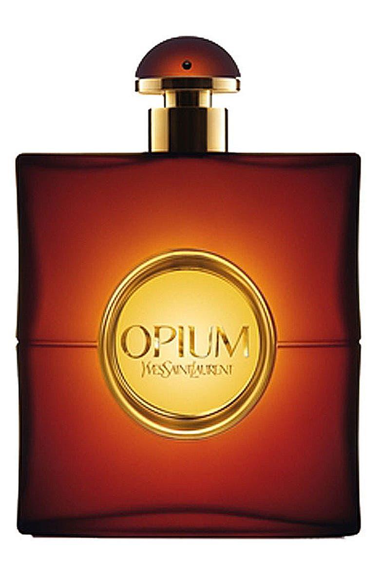 YVES SAINT LAURENT 'Opium' Eau de Toilette, Main, color, 000