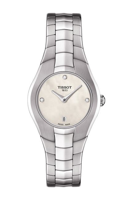 Image of Tissot Women's T-Round Diamond Watch, 25mm - 0.015 ctw