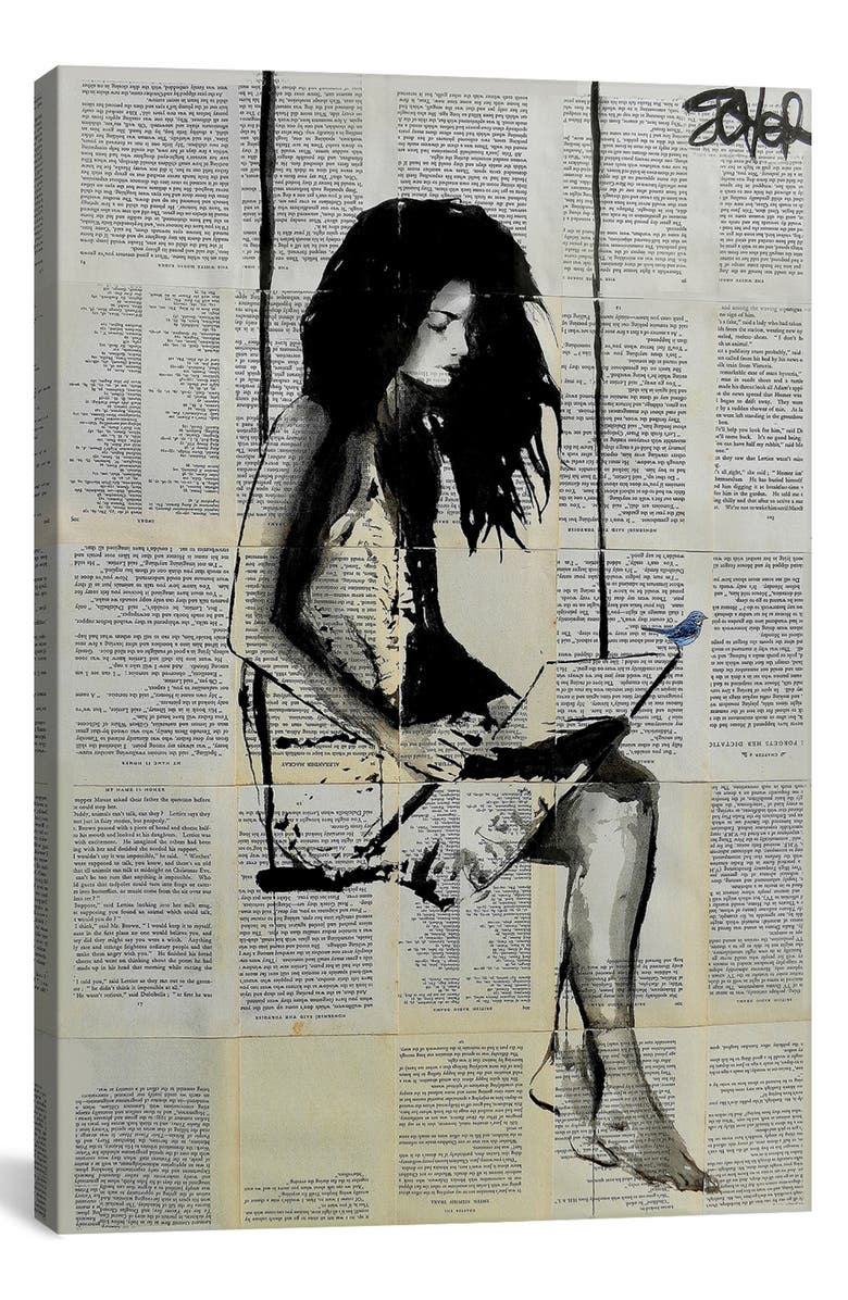 ICANVAS Spell by Loui Jover Giclée Print Canvas Art, Main, color, BLACK