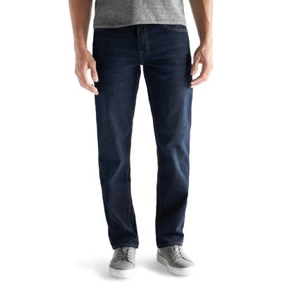 Devil-Dog Dungarees Straight Fit Performance Stretch Jeans, Blue
