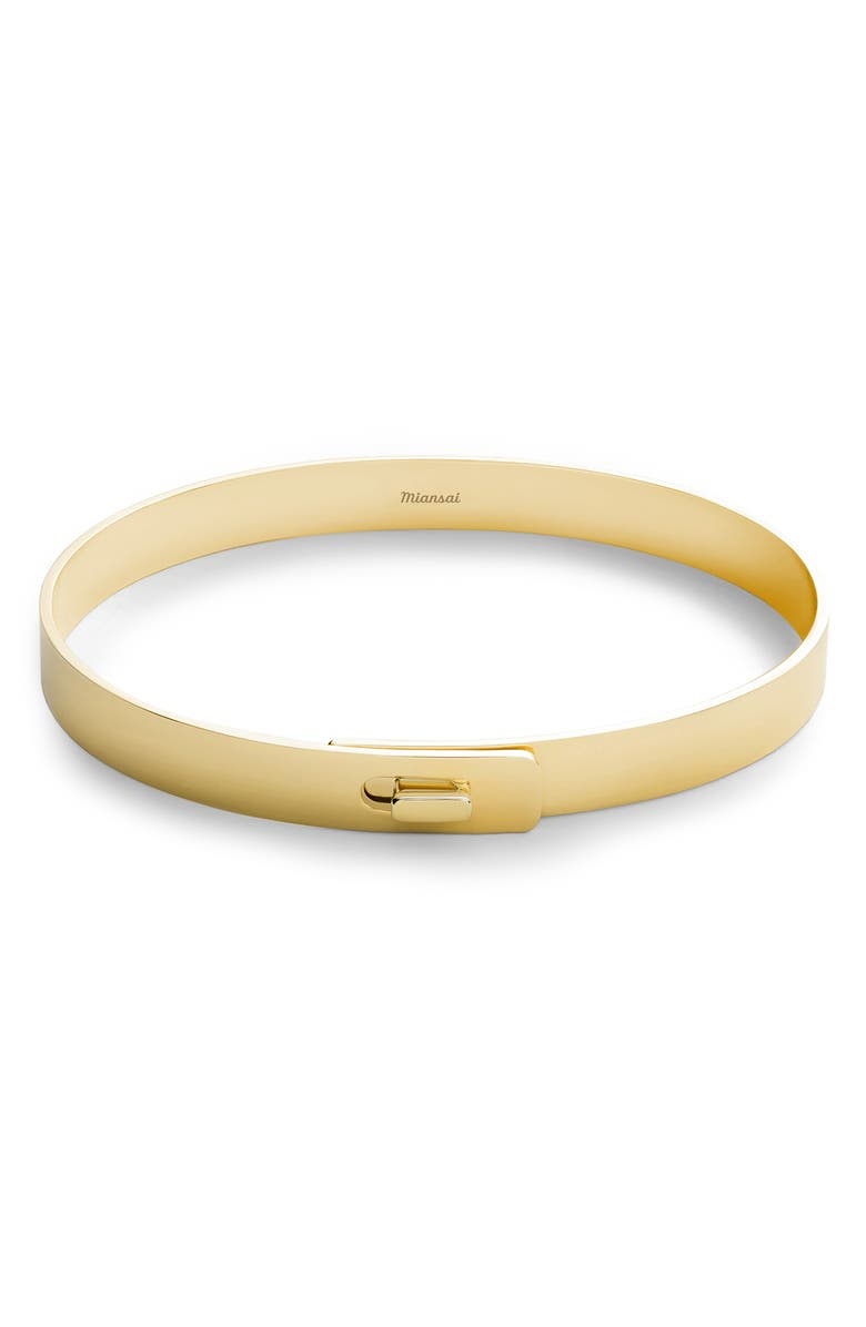 MIANSAI Gold Vermeil Cuff Bracelet, Main, color, 715
