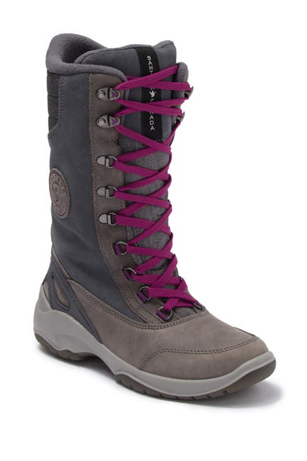 Image of Santana Canada Mohawk Fleece Lined Lace-Up Waterproof Boot