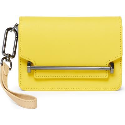 Botkier Mini Lennox Leather Crossbody Bag - Yellow