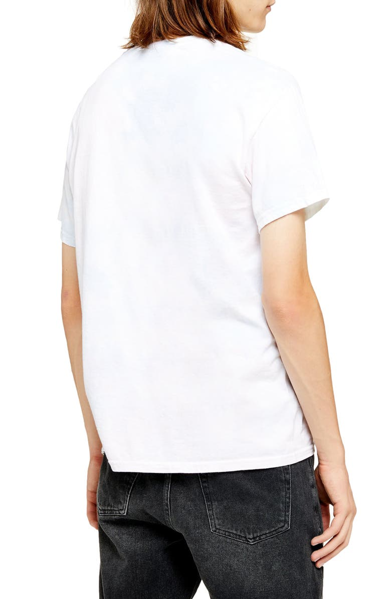 TOPMAN Wham! Graphic T-Shirt, Main, color, WHITE MULTI