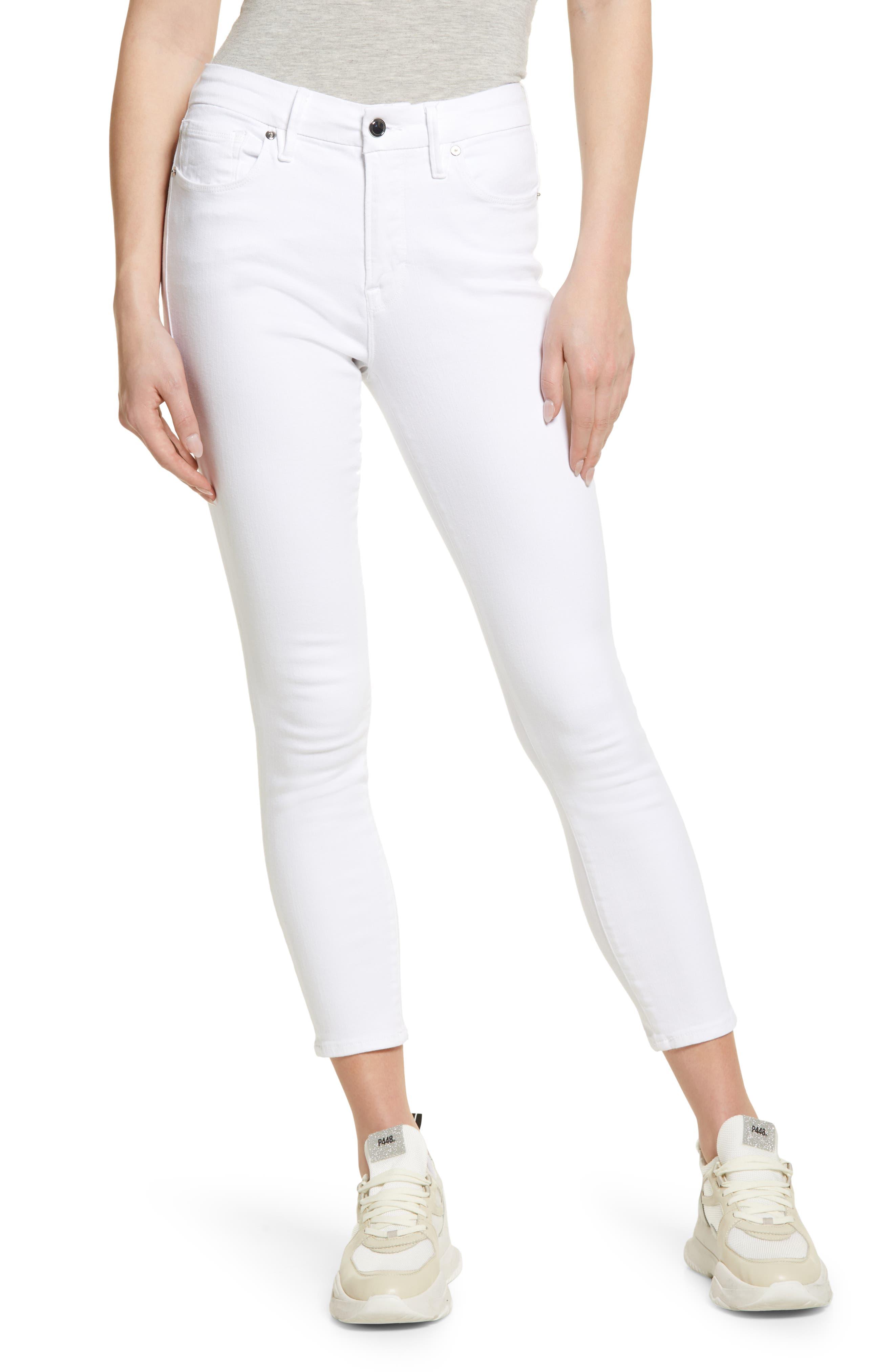 Good Legs High Rise Crop Skinny Jeans