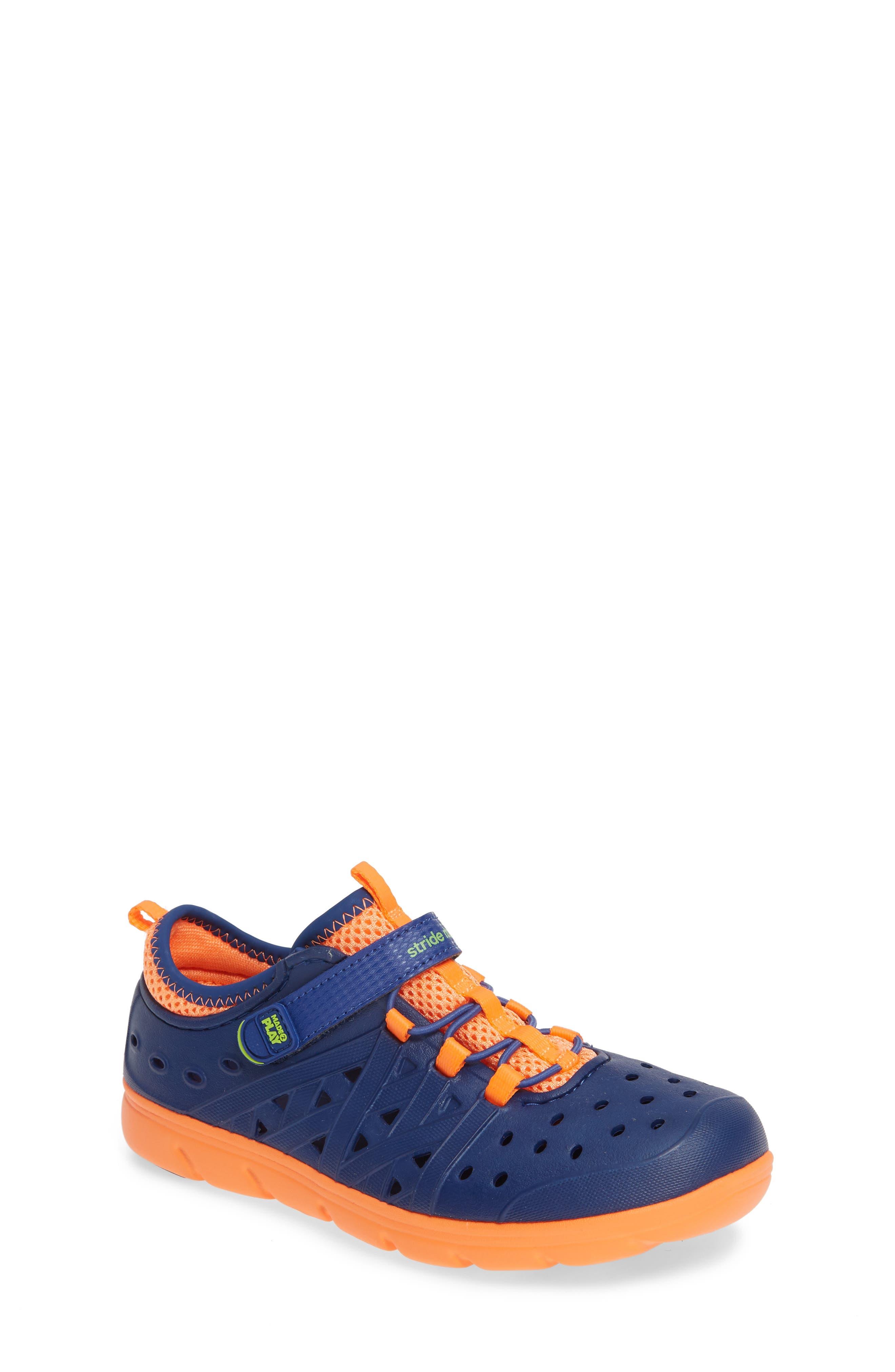 ,                             Made2Play<sup>®</sup> Phibian Sneaker,                             Main thumbnail 1, color,                             NAVY/ NAVY