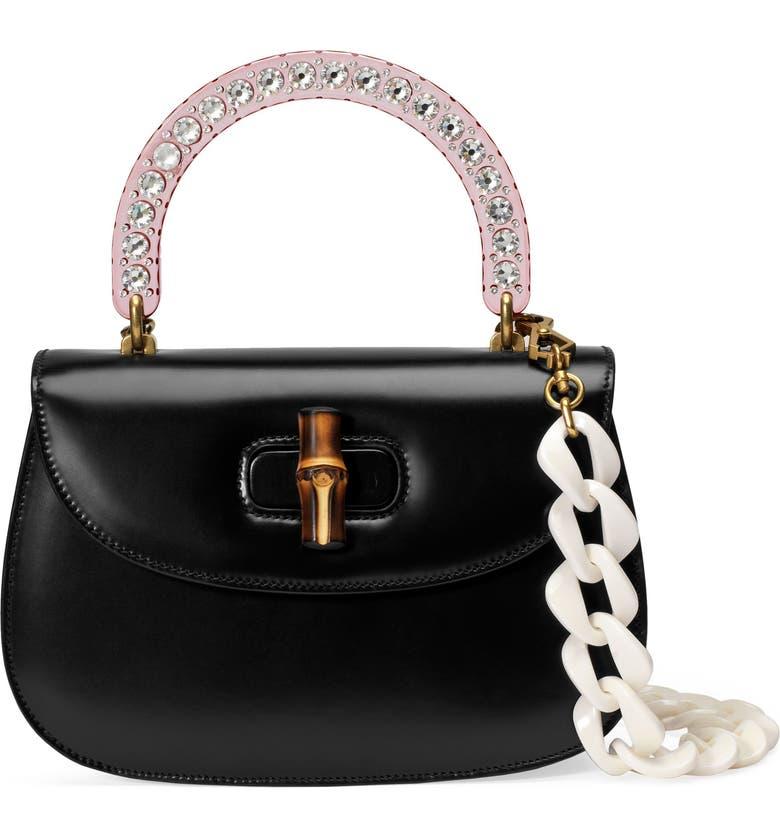 GUCCI Medium Classic 2 Top Handle Shoulder Bag, Main, color, 001