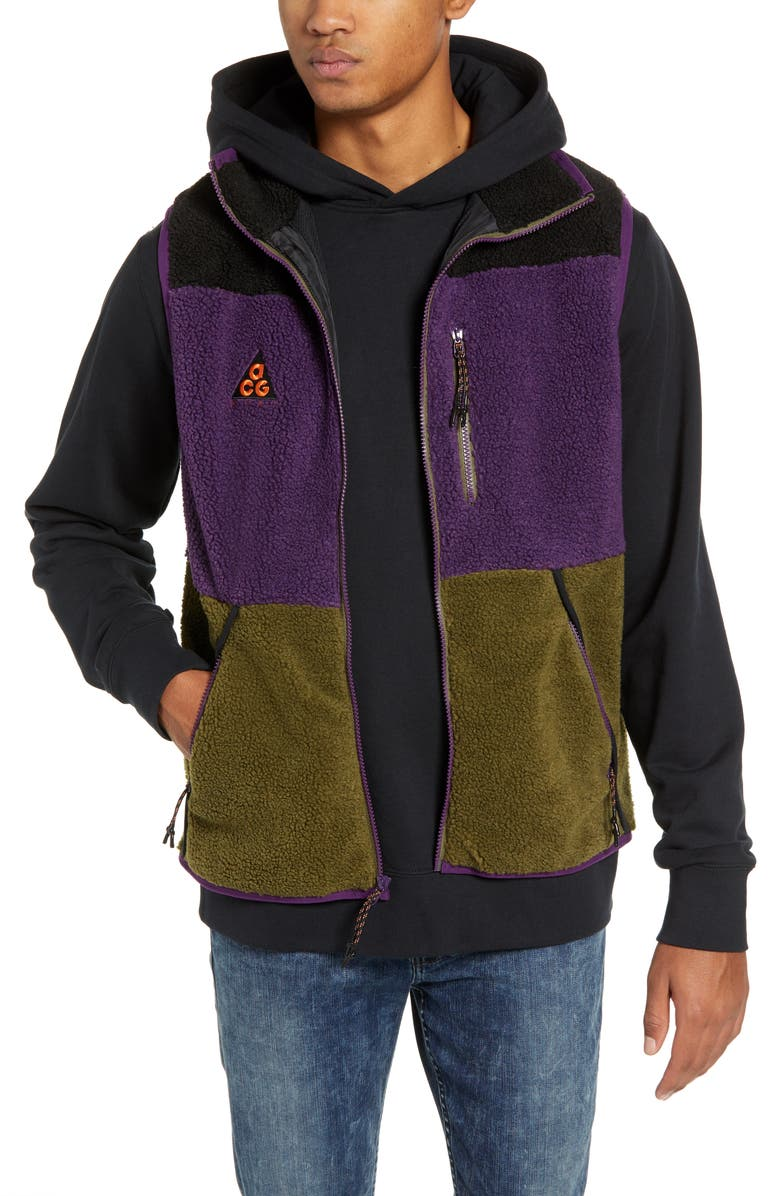 nike fleece vest