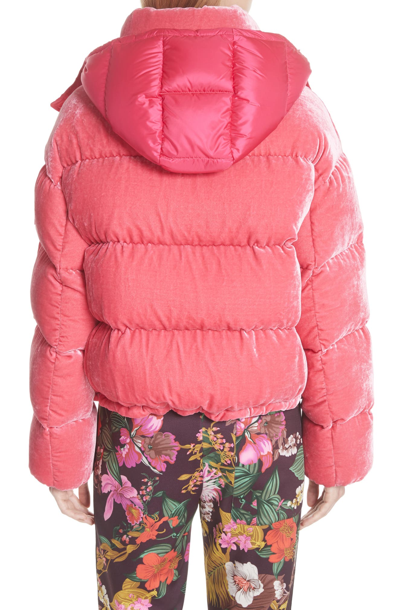 2be16f613 Caille Velvet Quilted Down Jacket