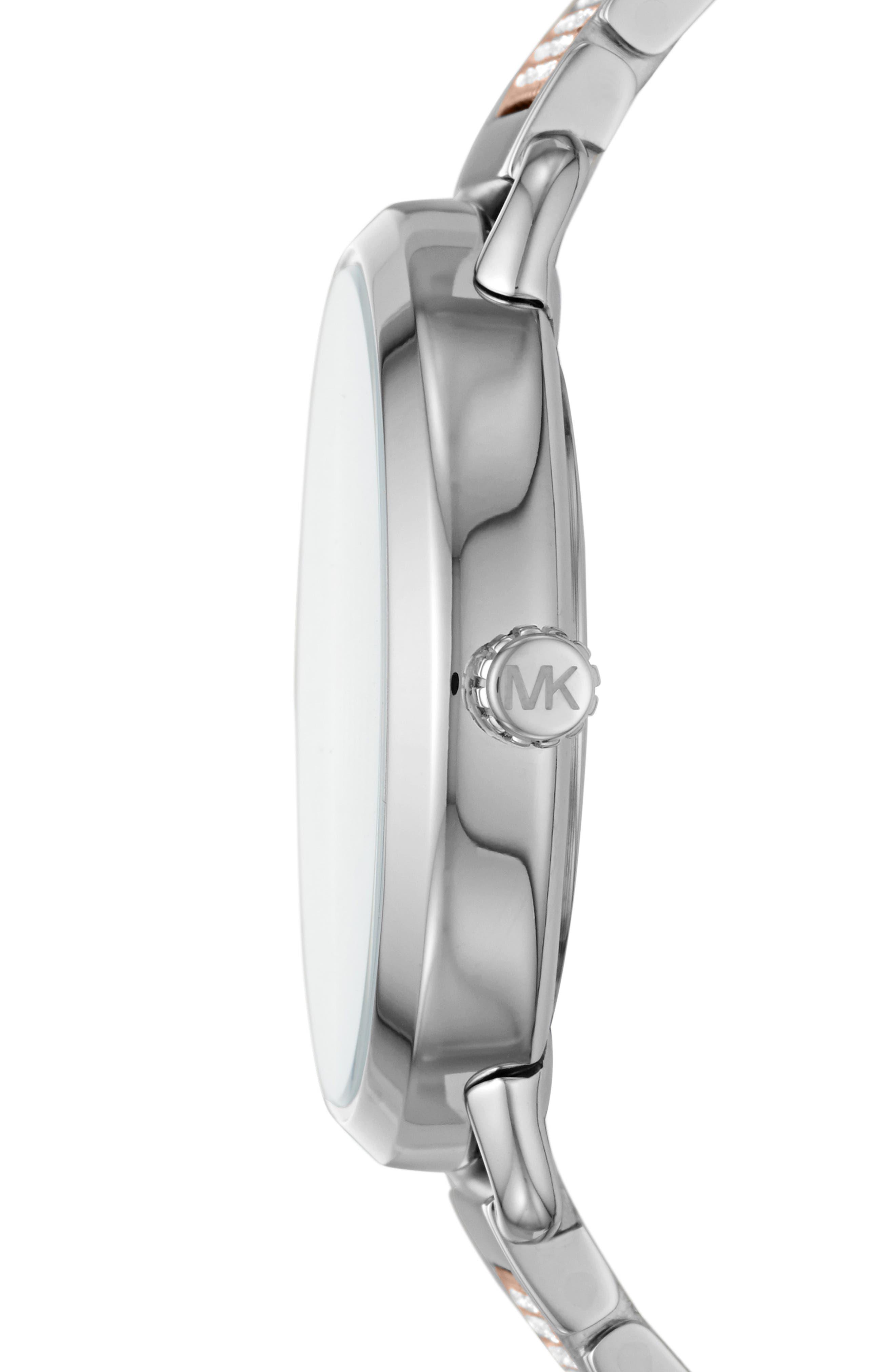 ,                             Portia Round Bracelet Watch, 36.5mm,                             Alternate thumbnail 6, color,                             042