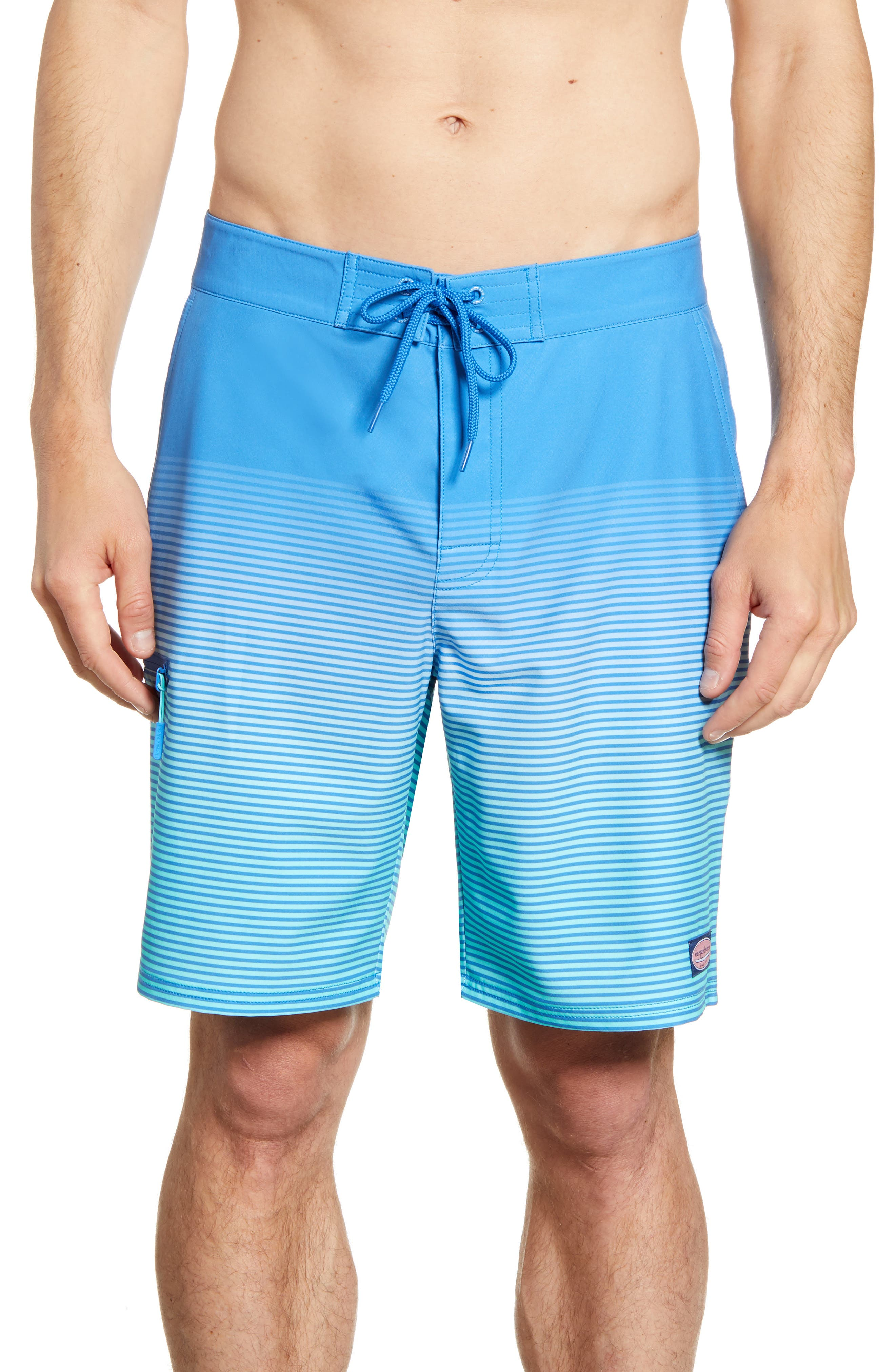 Vineyard Vines Beachwear Stripe Board Shorts