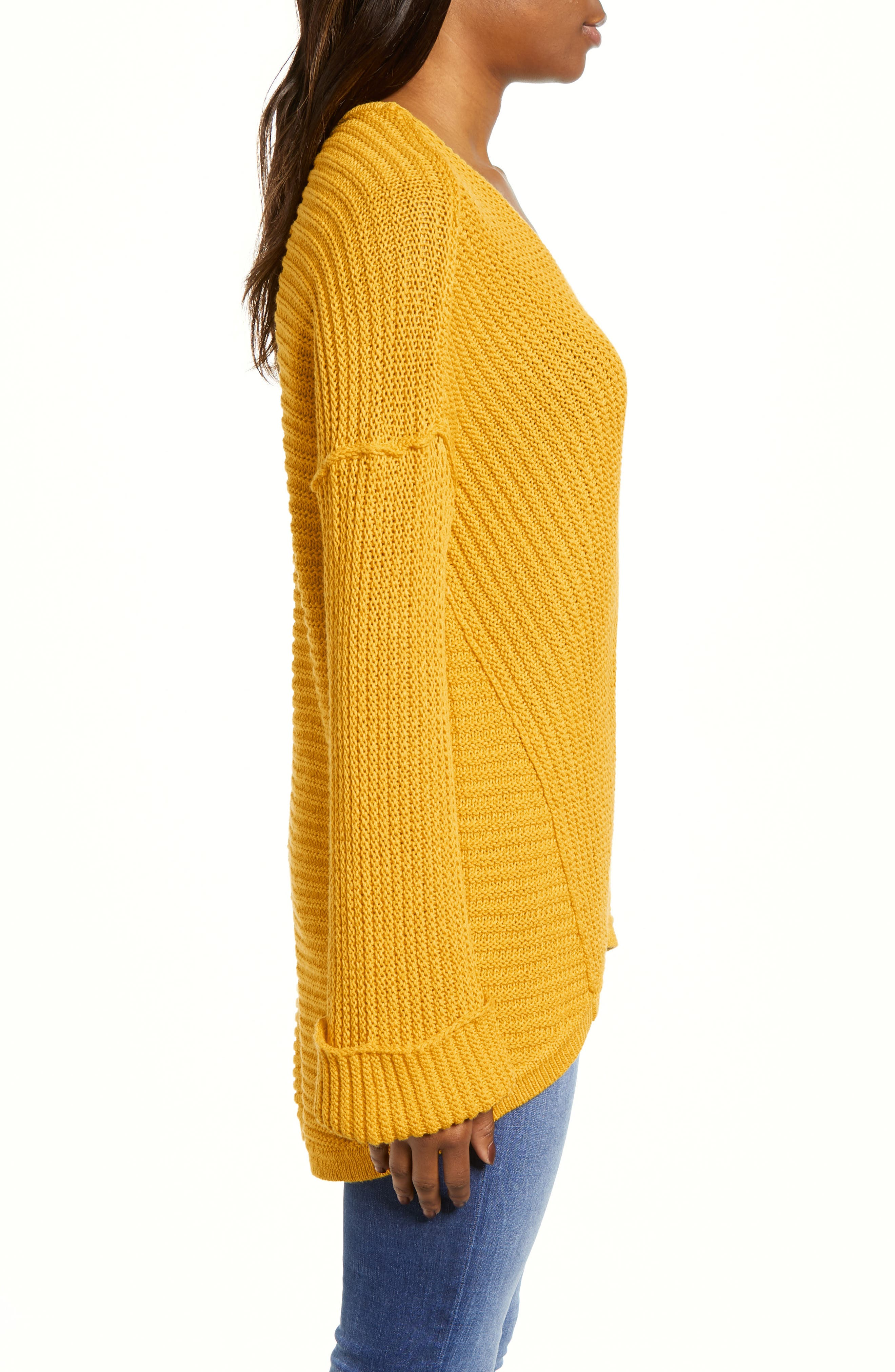 ,                             Cuffed Sleeve Sweater,                             Alternate thumbnail 33, color,                             720