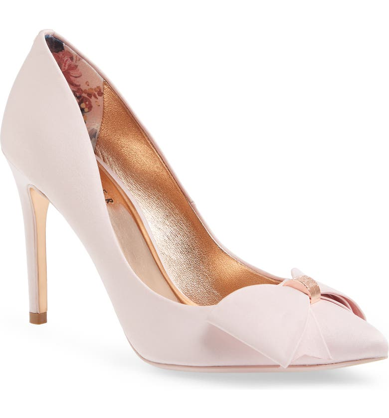 TED BAKER LONDON Asellys Pump, Main, color, PINK SATIN