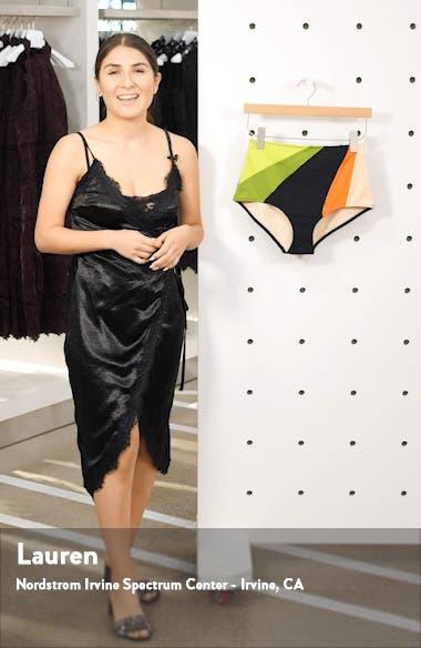 Ariya High Waist Bikini Bottoms, sales video thumbnail