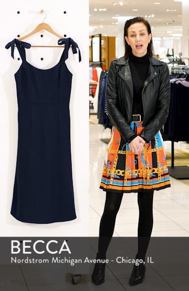Hana Tie Shoulder Cocktail Dress, sales video thumbnail
