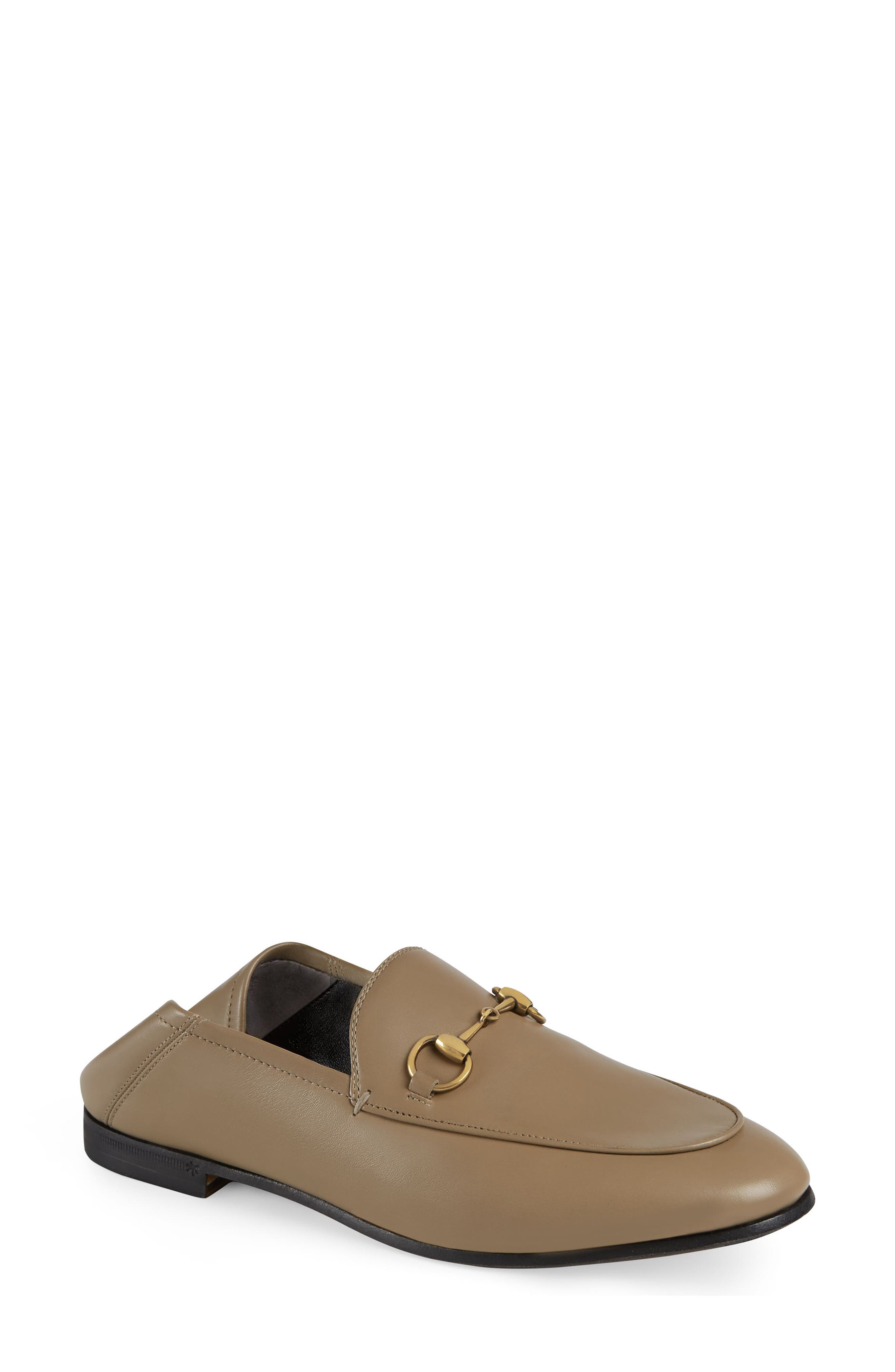 Gucci Brixton Convertible Loafer - Beige