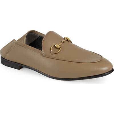 Gucci Convertible Loafer, Beige