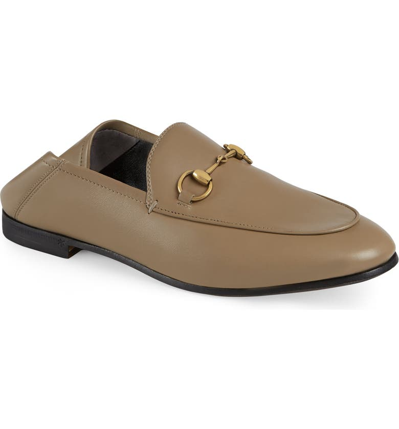 GUCCI Brixton Convertible Loafer, Main, color, MUD