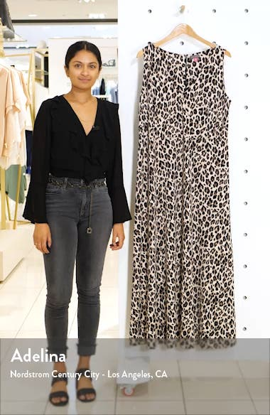 Leopard Knit Maxi Dress, sales video thumbnail