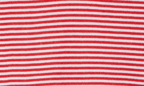 RED CHINOISE EVEN STRIPE
