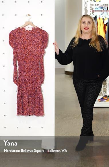 Alyssa Puff Long Sleeve Body-Con Dress, sales video thumbnail