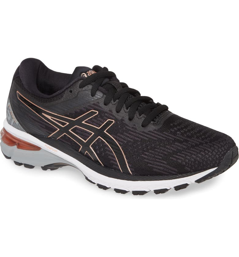 ASICS<SUP>®</SUP> GT-2000 8 Running Shoe, Main, color, BLACK/ ROSE