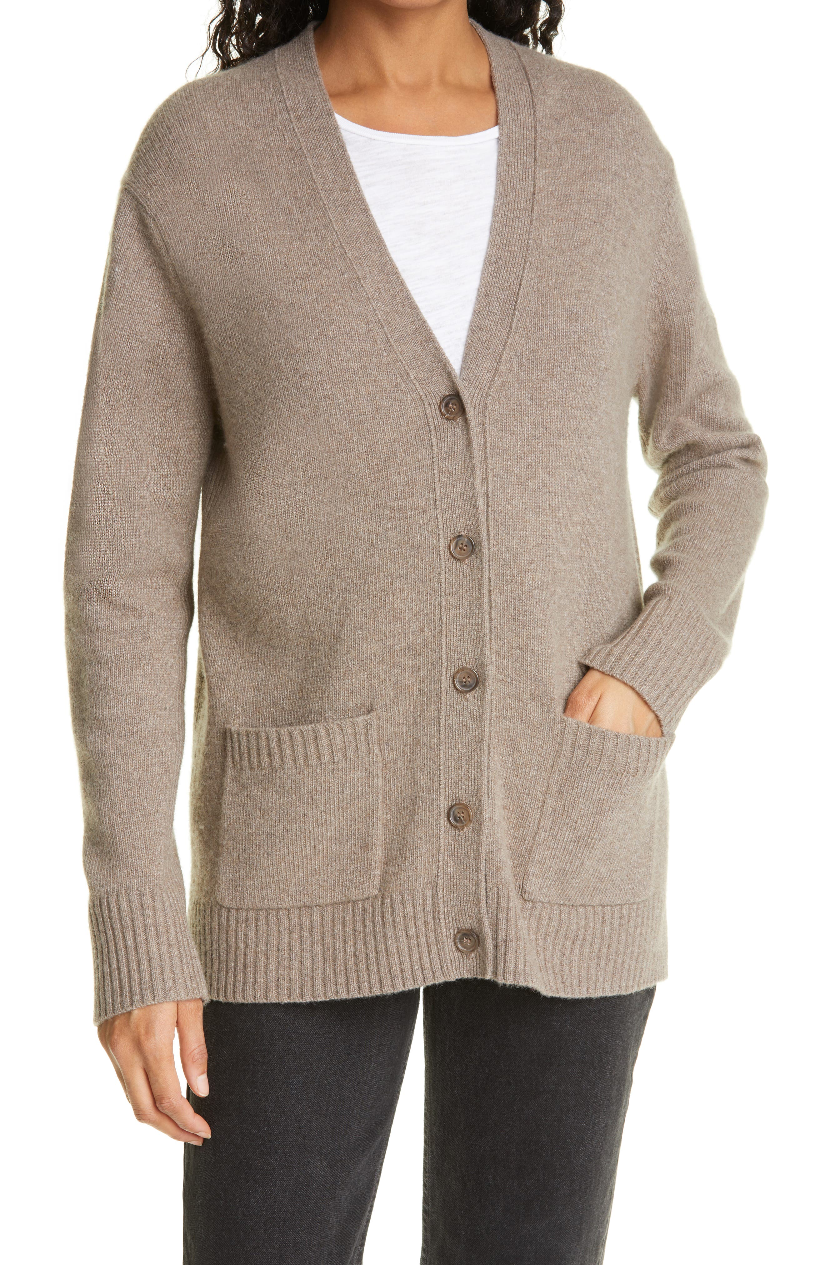 Everyday Wool & Cashmere Blend Cardigan