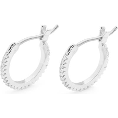 Gorjana Shimmer Huggie Hoop Earrings