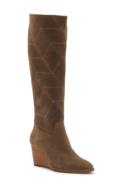 Image of Lucky Brand Preeka Leather Tall Boot