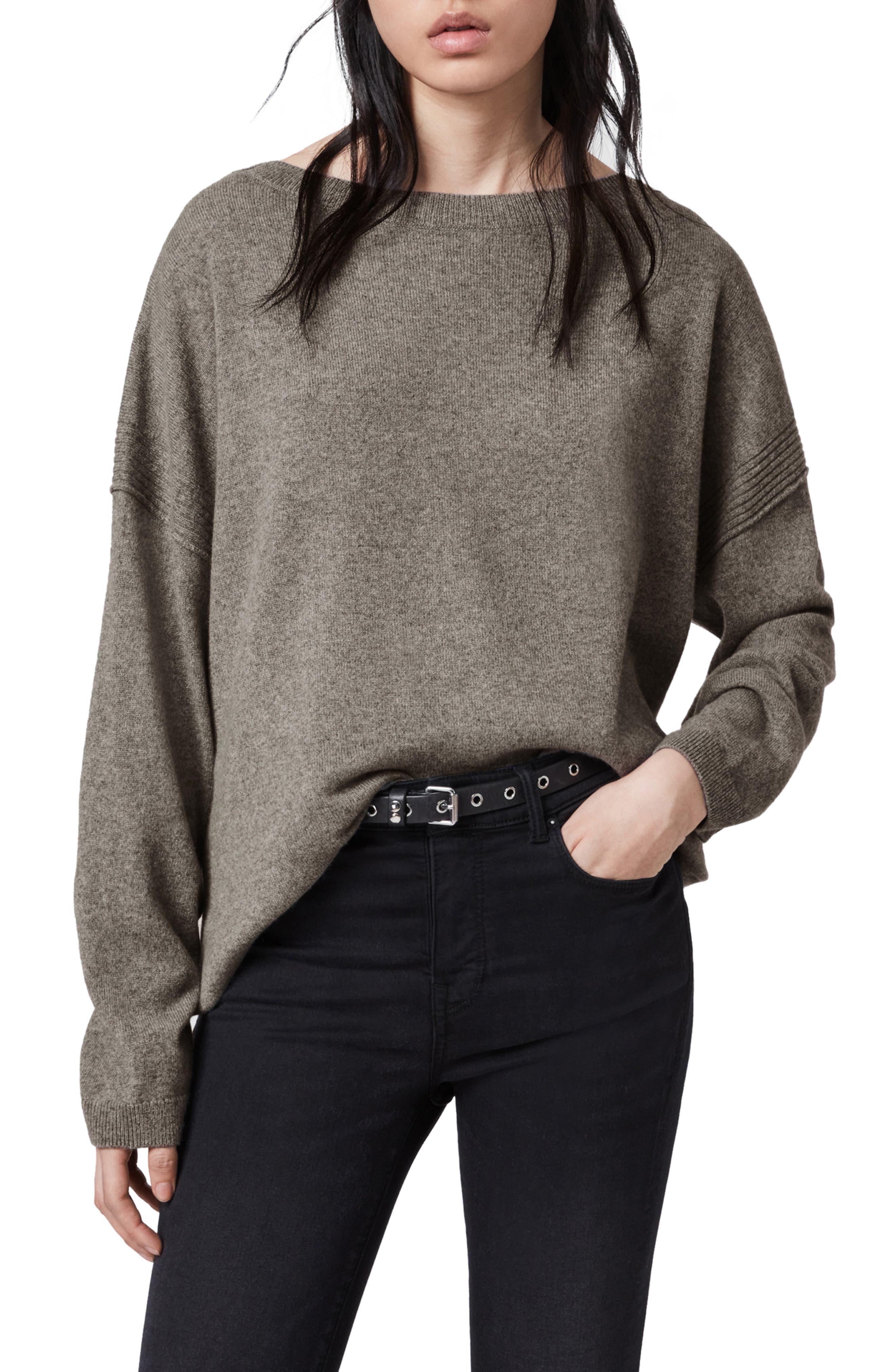 ALLSAINTS Tara Cashmere & Wool Sweater | Nordstrom
