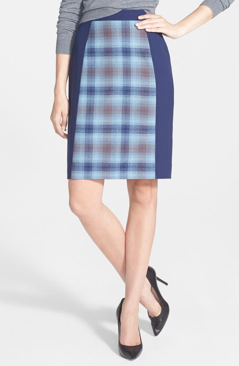 HALOGEN<SUP>®</SUP> Seamed Pencil Skirt, Main, color, 030